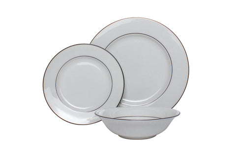 The Plate Co. Classic Black Dinner Set