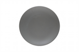 Set of 8 Everyday Chic Grey Dinner Plates