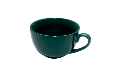 Set of 6 Green Breakfast Cups