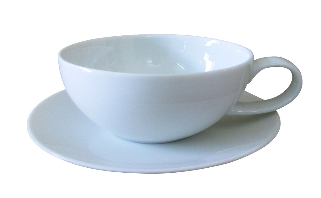 Set of 6 Everyday Chic Tea Cups and Saucers