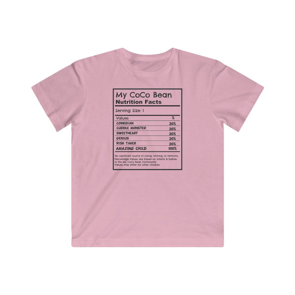 Nutrition Facts Children's Tee