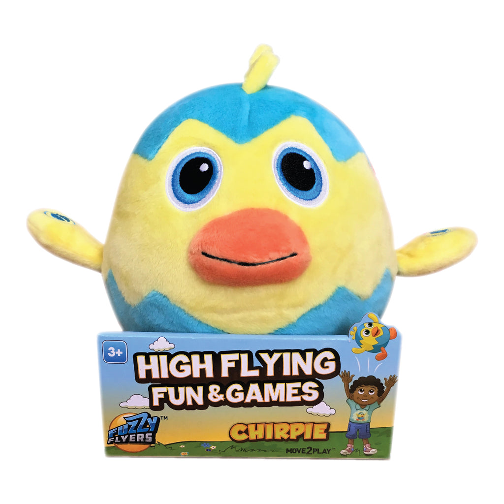 Fuzzy Flyers, Chirpie, Interactive Talking Plush Toy