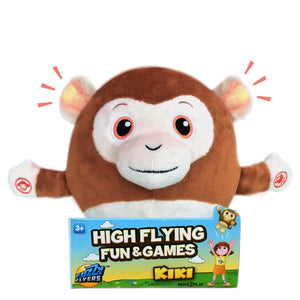 Fuzzy Flyers, Kiki, Interactive Talking Plush Monkey!
