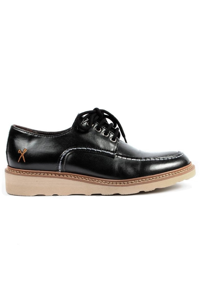 Black Oslo Shoe