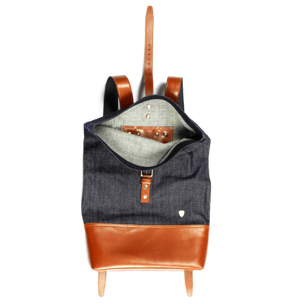 Toronto Denim Backpack