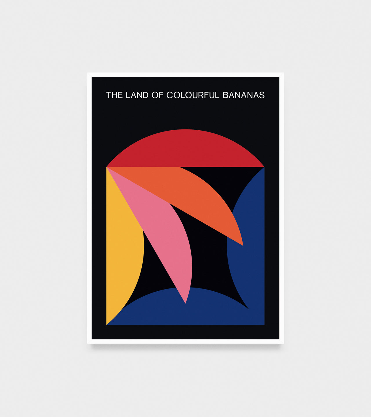 The Land of Colourful Bananas