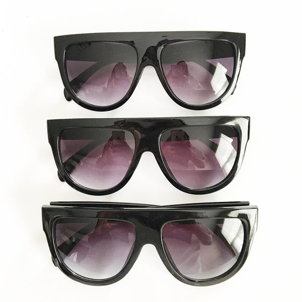 Flat Top Monica Sunglasses (ALL BLACK FRAMES... coming soon)