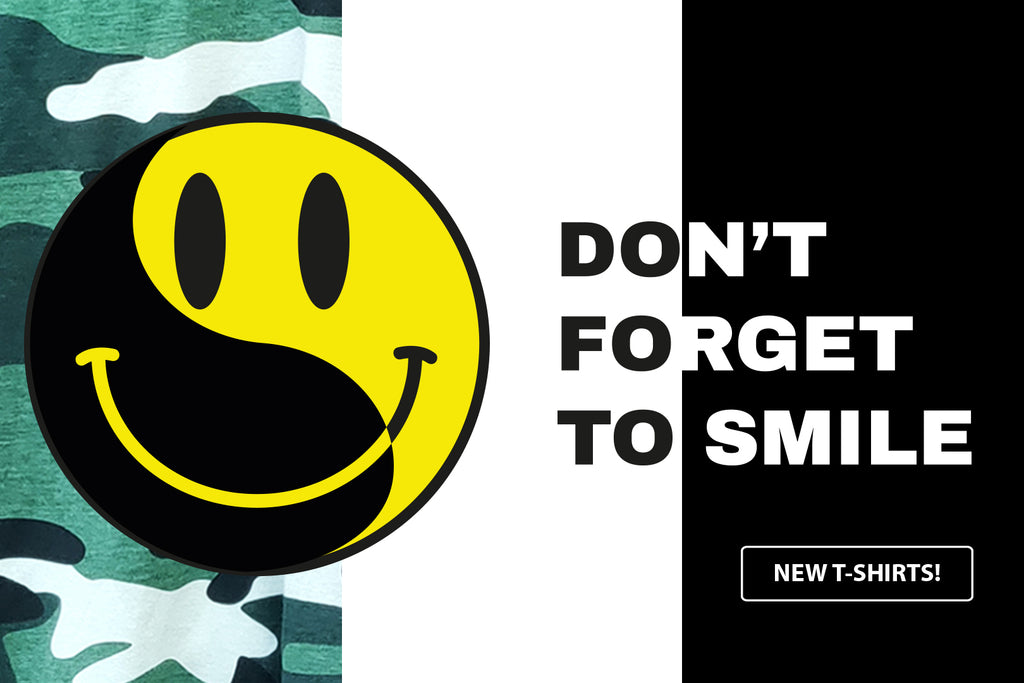 Don't forget to Smile T-shirt - Good Stuff