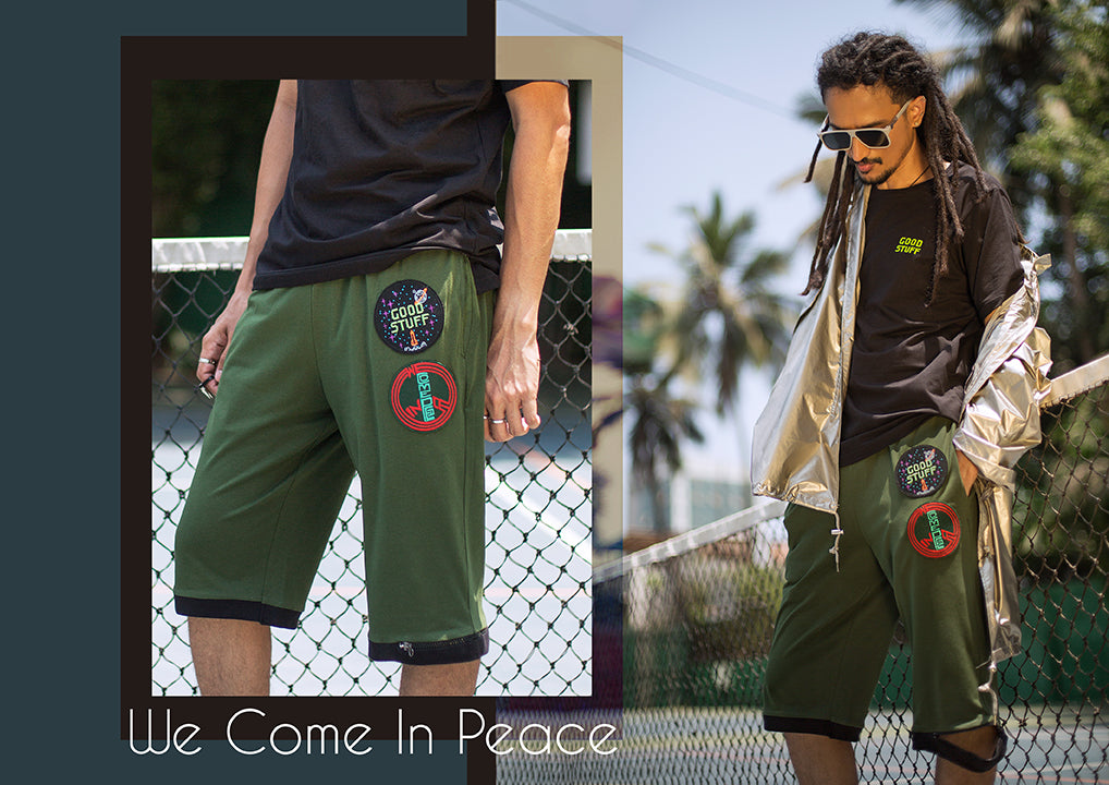 We Come In Peace Shorts - Coming Soon