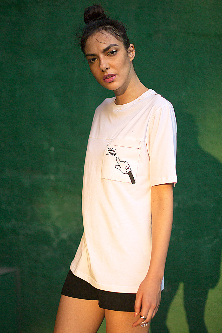 Women's White T shirt