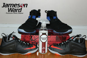 Jameson Ward Premium Shoe Cleaner Scored High On Comparaboo.com/sneaker-cleaners - Amazing