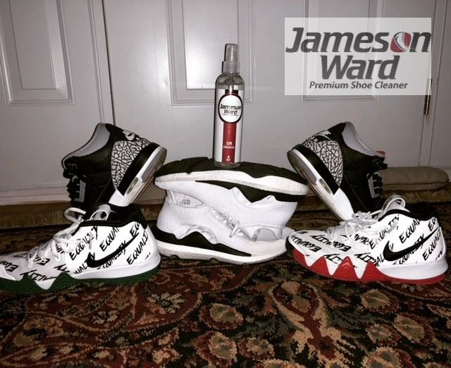 Voted Top 10 Sneaker Cleaner And Best Value - Jameson Ward Premium Shoe Cleaner