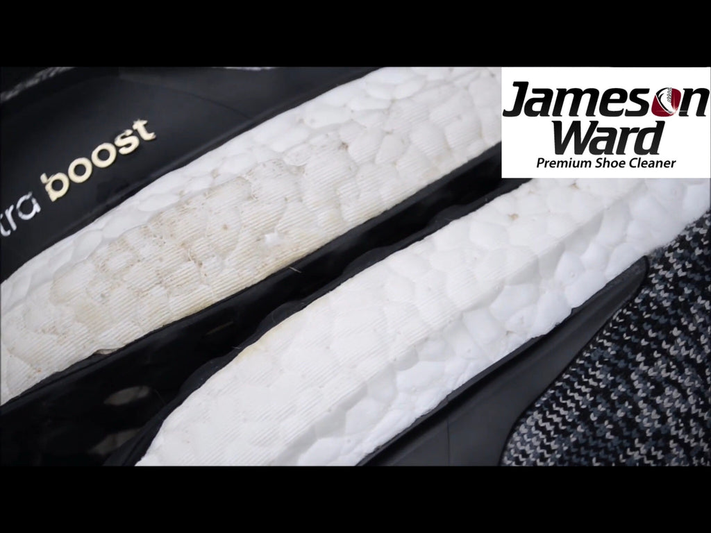 Jameson Ward Premium Shoe Cleaner - Check Out The Ultra Boost Results