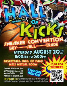 Jameson Ward Premium Shoe Cleaner Will Be At The Hall Of Kicks Sneaker Convention - Hall Of Fame Springfield MA