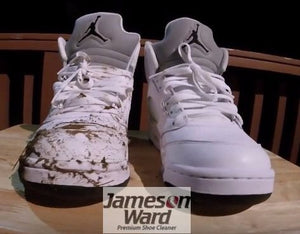 Jameson Ward Premium Shoe Cleaner - Its Time To Clean Those New Kicks!