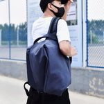 Casual Men Backpacks Students Solid Color