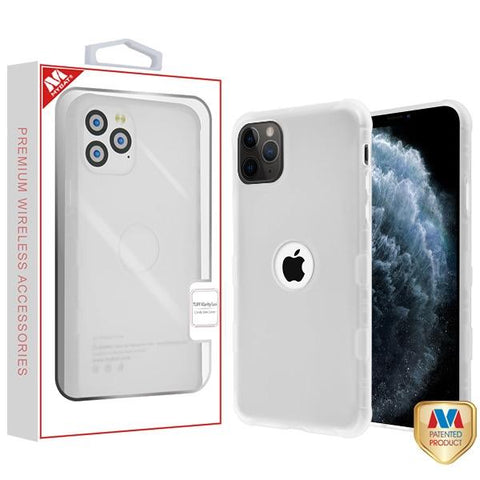 Semi Transparent White Frost TUFF phone case iPhone 11 Pro