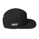 Anchor Black Snapback Hat