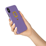 Friends TV Show Purple Door Peephole Phone Case