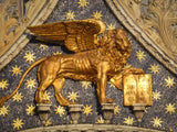 The Venice case - The Lion of St. Marco with the lettering