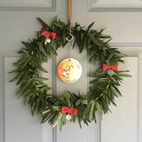 Christmas Weed Wreath
