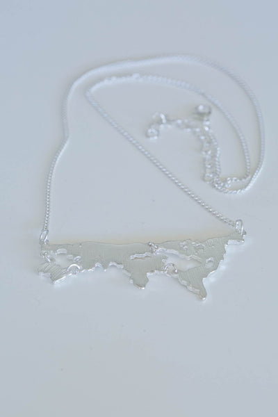 Atlas Necklace - Silver Fox Foundry