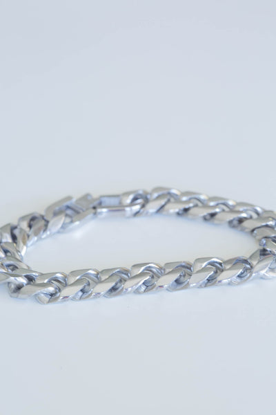 Isolde Cuban LInks - Silver Fox Foundry