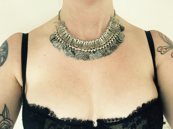 Cha Cha Collar - Silver Fox Foundry