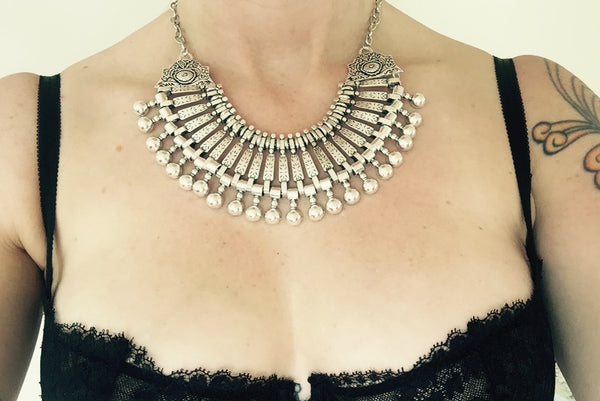 Sheba Collar - Silver Fox Foundry
