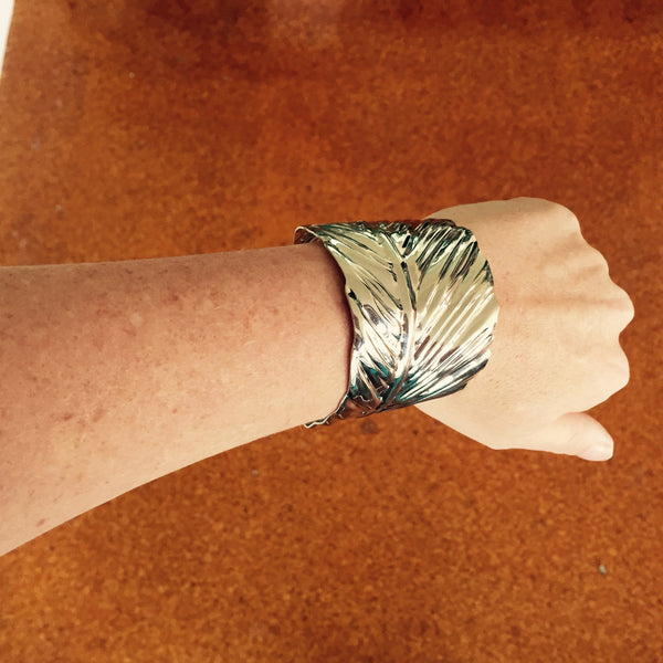 The Big Tickle Cuff - Silver Fox Foundry