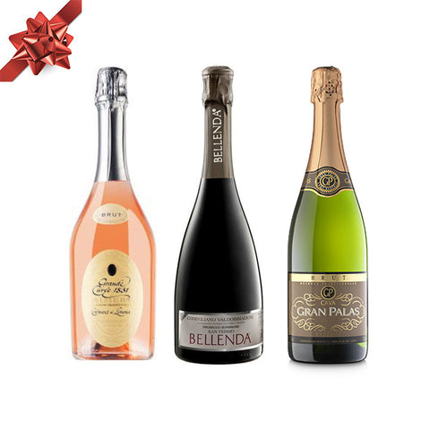 Holiday Sparkling Wine Gift Pack