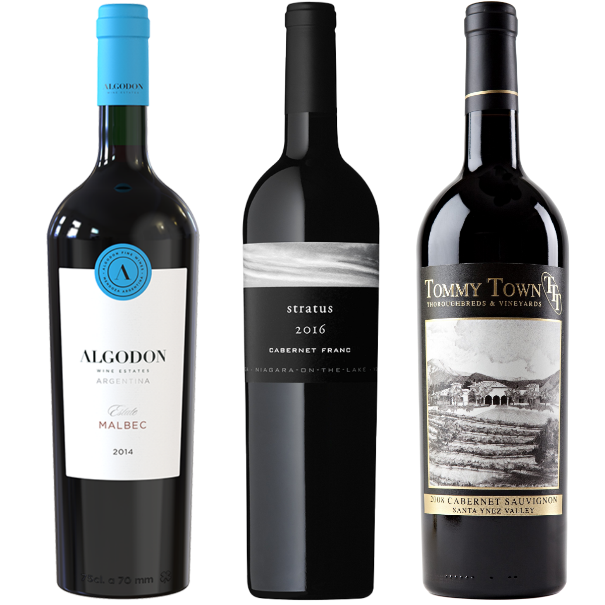 Peter Jones Red Wine 3-Pack
