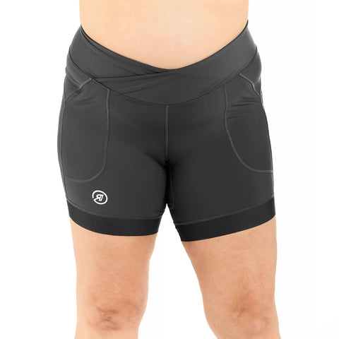 Trifecta Short in Grey