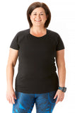 Trifecta Short Sleeve in Black - Rsport