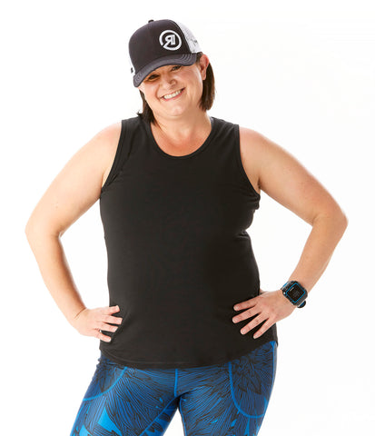 Trifecta Tank in Black - Rsport