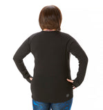 Trifecta Long Sleeve in Black - Rsport