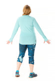 Trifecta Long Sleeve Faded Aqua - Rsport