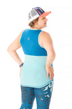 Trifecta Tank in Lapis - Rsport