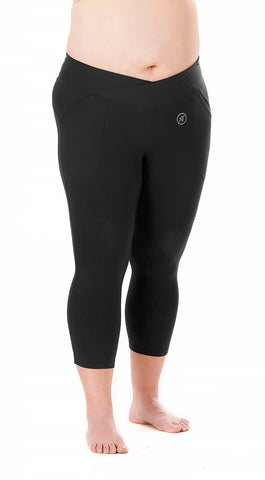 Trifecta Multisport 3 Pkt Capri in Black - Rsport