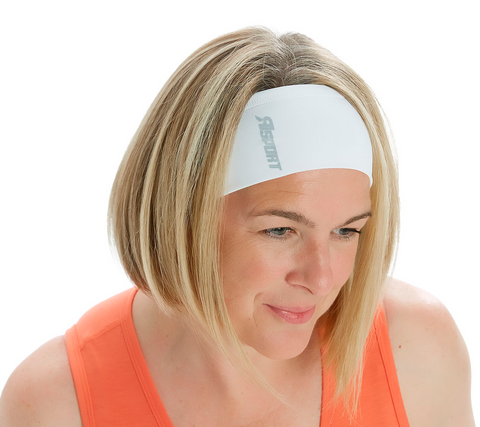 Trifecta Headband in White - Rsport