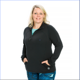 Element Half Zip Pullover in Black - Rsport