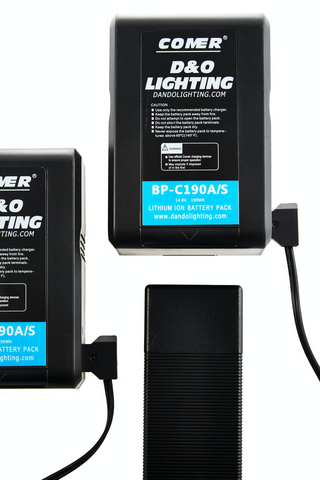 D&O Lighting V Mount Batteries or Gold Mount Batteries