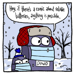 Anything is possible comic short by D&O Lighting