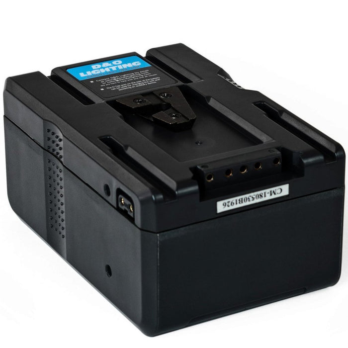 Two 160Wh V-Mount Batteries & Power Station Bundle