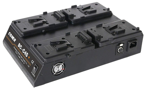 4 Channel Power Station for V-Mount Batteries