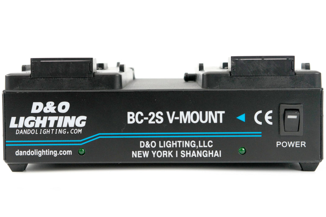 2 Channel Power Station for V-Mount Batteries