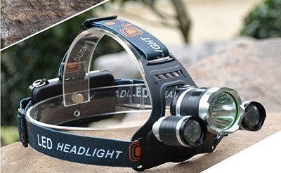SA 3 LED Tactical 5000 Lumens 4 Mode Head Lamp
