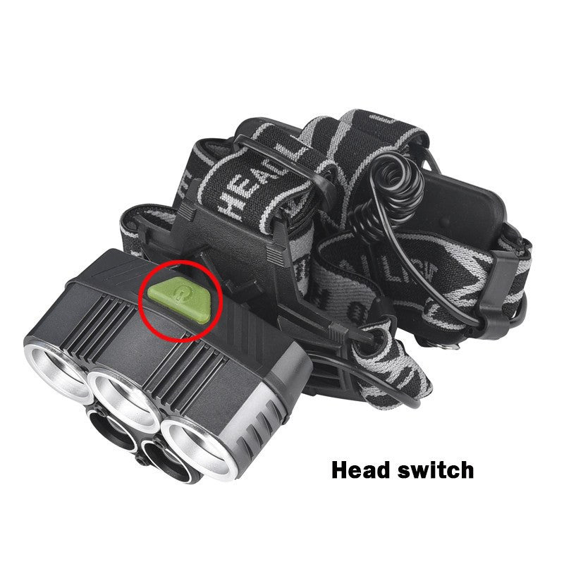 SA 5 LED TACTICAL 15000 LUMEN HEAD LAMP