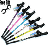 SA 6 color Adjustable Telescopic Anti-shock Trekking Stick Pole