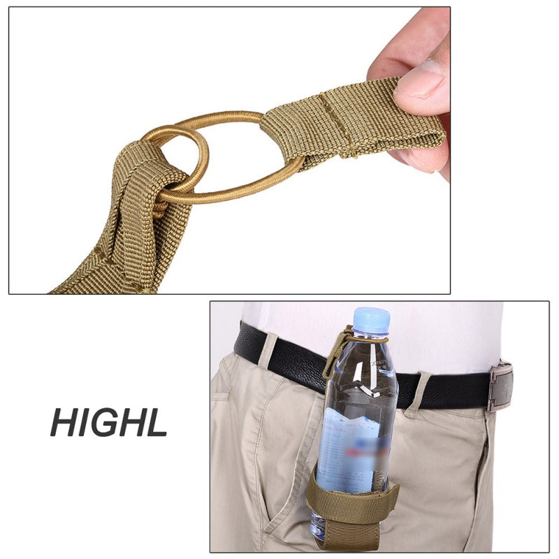 SA Molle Nylon Water Bottle Belt